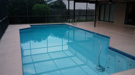 New Port Richey Pool Deck Painting